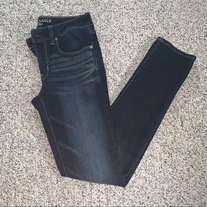 American Eagle Dark Blue Skinny Jeans